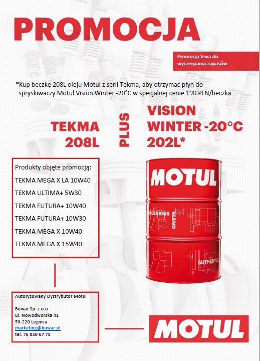 promocja oleje Motul